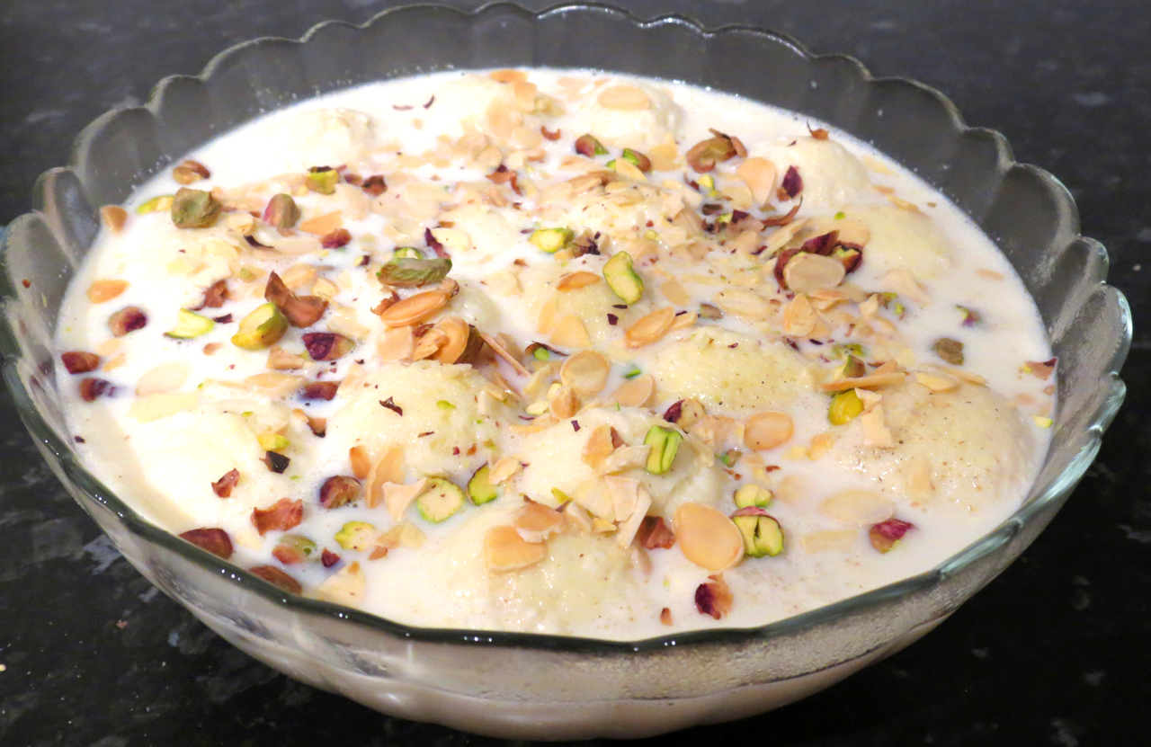 How To Make Ras Malai From Scratch Officially Shamsa